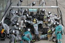 Formel 1 - Silberpfeile geben den Ton an: Italien GP: Die Boxenstopp-Analyse