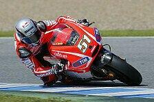 MotoGP - Ducati: Pirro fährt in Jerez Entwicklungsstufe