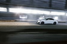 Auto - Design trifft Driving Performance : Mercedes CLA 45 AMG feiert in New York Premiere