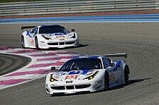 WEC - Weiter mit Griffin und Mowlem: RAM Racing: Je ein Ferrari f�r beide GTE-Klassen