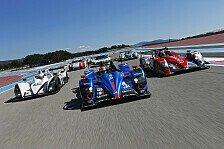 Le Mans Serien - Testbetrieb bei Tag und Nacht: Le Castellet: Bestzeit durch Signatech-Alpine