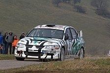 Rallye - Osterrallye Zerf: Riebensahm knapp hinter Noller