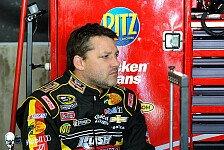 NASCAR - Burton �bernimmt: Nach Unfall: Stewart in Michigan nicht am Start