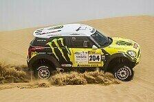 Mehr Rallyes - Pr�fung wegen Sandsturm verk�rzt: Abu Dhabi Desert Challenge: Alvarez vor Roma