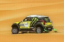 Mehr Rallyes - Doppelsieg f�r X-raid Team: Abu Dhabi Desert Challenge: Roma gewinnt 2. Etappe