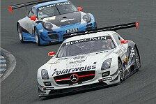 ADAC GT Masters - Mercedes-Duo mit Bestzeit in drei von vier Testsessions: G�tz/Buhk Schnellste beim ADAC GT Masters-Test