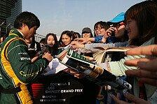 Formel 1 - Motorsport auf dem Vormarsch: Ma: Ich bin f�r die Chinesen ein Idol