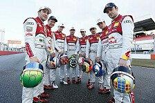 DTM - Die Aufholjagd wird zum Hindernislauf: DTM-Saison 2013: Teamvorschau Audi
