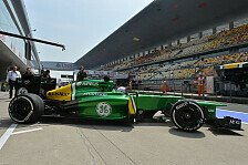 Formel 1 - Chinese im Caterham-Cockpit: Heimspiel f�r Ma Qing Hua