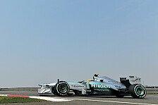 Formel 1 - Balance & Feedback gut - Reifen b�se: Mercedes zwischen Zuversicht & Vorsicht