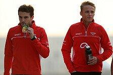 Formel 1 - Beeindruckend wenig Fehler: Marussia will Chilton und Bianchi halten