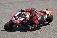 Superbike - �berraschung und Hoffnung: Guintoli will auf der RSV4 punkten