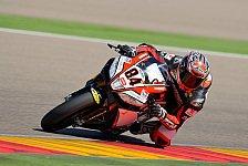 Superbike - Probleme mit der RSV4 behoben: Fabrizio f�hlt sich wieder wohl