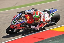 Superbike - Ein besonderer Tag: Giugliano in den Top-Ten