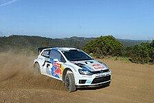 WRC - Ogier k�mpft mit seinem K�rper: Portugal: Ogier f�hrt, Latvala macht Druck