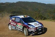 WRC - Novikov bester M-Sport-Pilot: Neuville trifft einen Baum