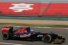 Formel 1 - Williams hinkt hinterher: Top-Speeds in Shanghai: Toro Rosso am schnellsten