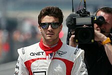 Formel 1 - Ferrari-Zukunft im Hinterkopf: Bianchi will Marussia ins Mittelfeld bringen