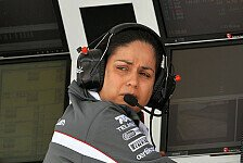 Formel 1 - Das sah �bel aus: Monisha Kaltenborn