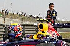 Formel 1 - Zu wenig Benzin im Tank: Webber muss als Letzter losfahren