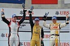 Mehr Motorsport - Nachtr�gliches Geburtstagsgeschenk : PCCA: Ragginger siegt auch in Shanghai