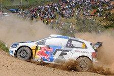 WRC - Saisonziel muss angepasst werden: Ogier: Eine wahre Achterbahn-Rallye
