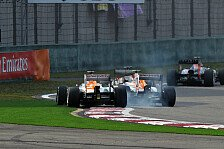 Formel 1 - Aussprache angek�ndigt: Force India warnt seine Piloten