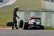Formel 1 - Big trouble in little China: Webbers Horror-Trip: Drama in 8 Akten