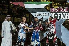 Bikes - Torres siegt vor dem h�chsten Geb�ude der Welt: Red Bull X-Fighters in Dubai