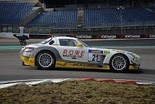 24 h Nürburgring - ROWE Racing mit vier SLS AMG GT3