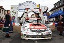 DRM - Gesamtsieg bei der Hessen Rallye: Doppelf�hrung f�r Wallenwein Rallye Sport