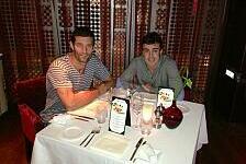 Formel 1 - Abendessen mit Freunden: Alonso & Webber: Anti-Vettel-Allianz?