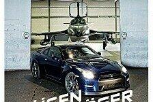 Auto - Godzilla gegen Goliath: Nissan GT-R im Duell mit einem D�senj�ger