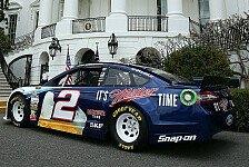 NASCAR - Brad Keselowski im Weißen Haus