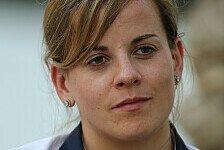 Formel 1 - Nackenmuskulatur nun sichtbar: Susie Wolff: Test noch nicht offiziell