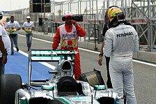 Formel 1 - R�ckschlag kurz vor dem Qualifying: Hamilton verliert nach Getriebewechsel 5 Pl�tze