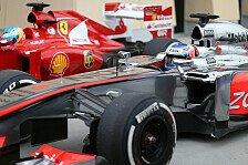 Formel 1 - Verst�ndnisvolle Italiener: McLaren f�hlt sich an Ferrari 2012 erinnert