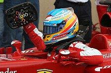 Formel 1 - Handicap & K�mpferqualit�ten: Alonso in der DRS-Falle