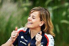 Formel 1 - Deb�t mit Anlaufzeit: Susie Wolff: F1-Premiere mit 30 Jahren