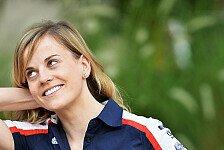 Formel 1 - Ecclestone tut alles, um mich in die Formel 1 zu bringen: Susie Wolff: Young Driver Tests sind Pflicht