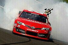 NASCAR - Rookie Stenhouse zeigte starkes Rennen: Zweiter Saisonsieg f�r Kenseth