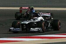 Formel 1 - Bessere M�glichkeiten bei Europa-Rennen: Williams erwartet Schritt nach vorne