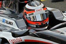 Formel 1 - Viele andere mussten auch auf ihre Zeit warten: H�lkenberg: Aerodynamik ist Saubers Achillesferse