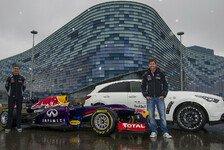 Formel 1 - Mit Coulthard nach Russland: Vettel besucht Strecke in Sochi