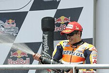 MotoGP - Der j�ngste MotoGP-Gewinner: Magic Moments 2013: Marquez siegt erstmalig