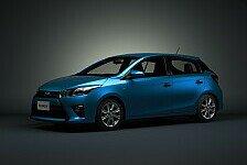 Auto - Chinesische Version des Toyota Yaris enth�llt: Toyota pr�sentiert drei Weltpremieren in Shanghai