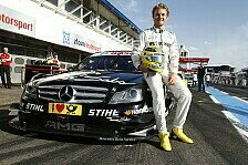 DTM - Talenten bei der Arbeit zuschauen: Nico Rosberg in Hockenheim zu Gast