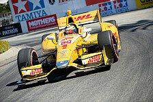 IndyCar - Desaster f�r Penske: Sao Paulo: Hunter-Reay auf der Pole