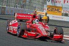 IndyCar - Bestzeit, aber keine Pole: Franchitti meldet sich zur�ck