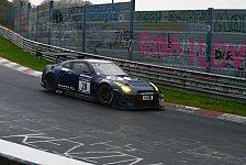24 h N�rburgring - Gefahr f�r Fahrer: Sicherheitsrisiko durch Graffitis
